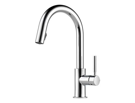 Brizo 63020LF Solna Single Handle Pull-Down Kitchen Faucet
