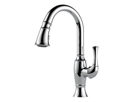 Brizo 63003LF Talo Single Handle Pull-Down Kitchen Faucet
