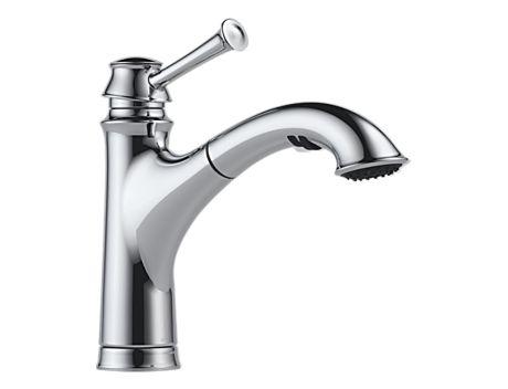 Brizo 63005LF Baliza Single Handle Pull Out Kitchen Faucet