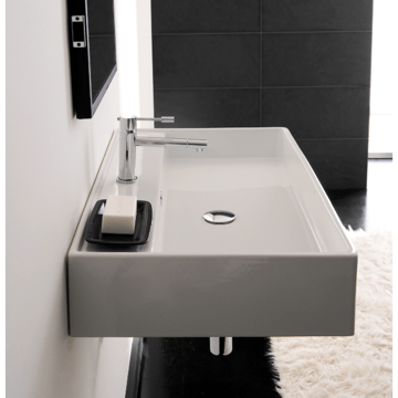 SCARABEO 8031/R-80 TEOREMA 31.5 INCHES BATHROOM SINK