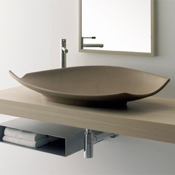 Scarabeo 8053 Wh Kong 35 4 Inch Bathroom Sink Scarabeo 8053 F Kong 35 4 Inch Bathroom Sink Scarabeo 8053 30 Kong