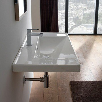 Scarabeo 3002 Wh Ml 36 2 Inches Bathroom Sink 35 37