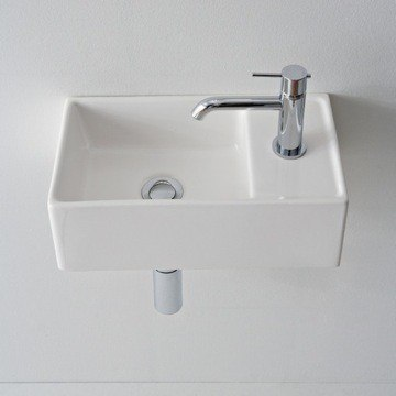 Scarabeo 8031 R 41 Wh Teorema 16 1 Inches Bathroom Sink 30