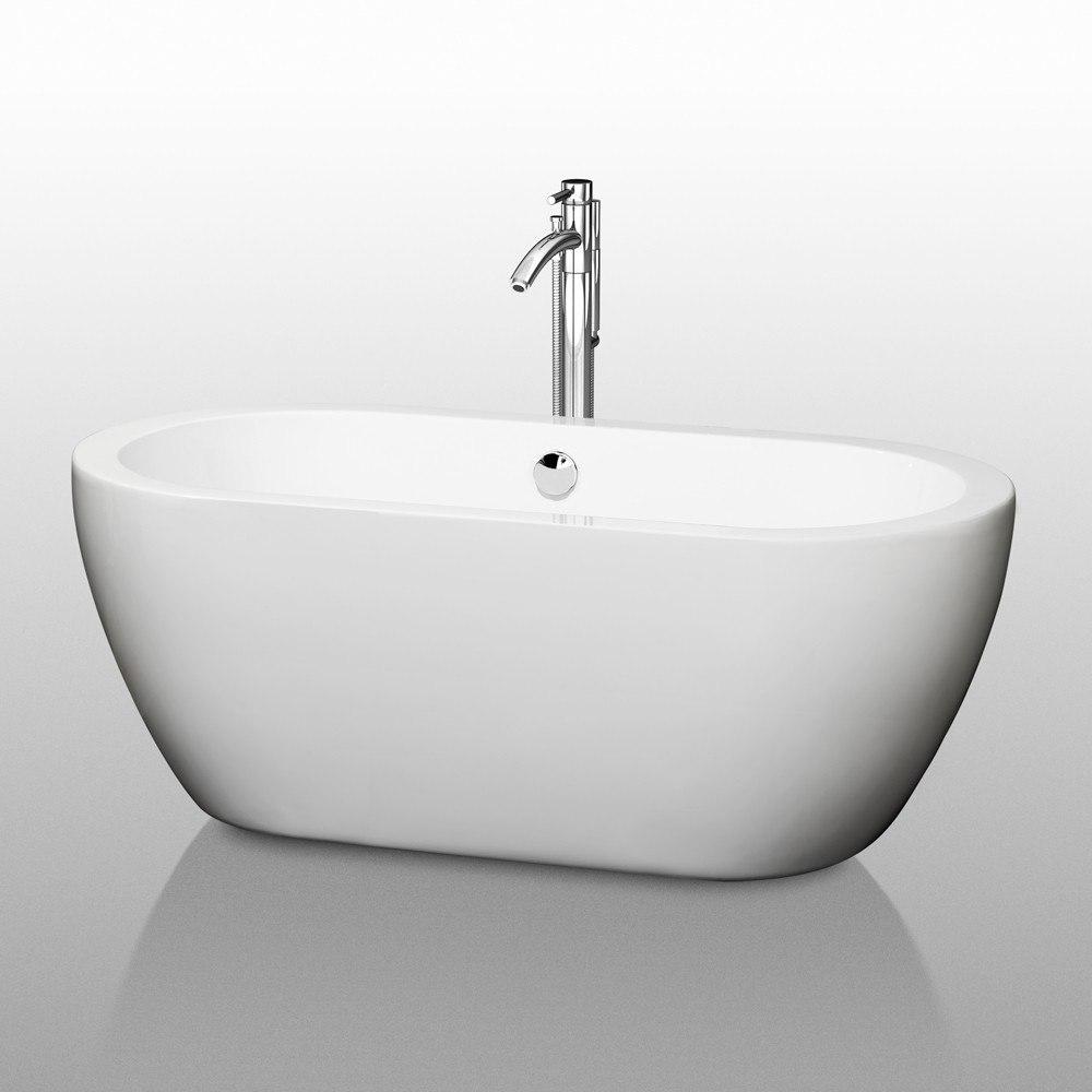 Wyndham Collection WCOBT100260 Soho 60 Inch Soaking Bathtub