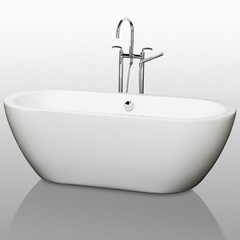 Wyndham Collection WCOBT100268 Soho 68 Inch Soaking Bathtub