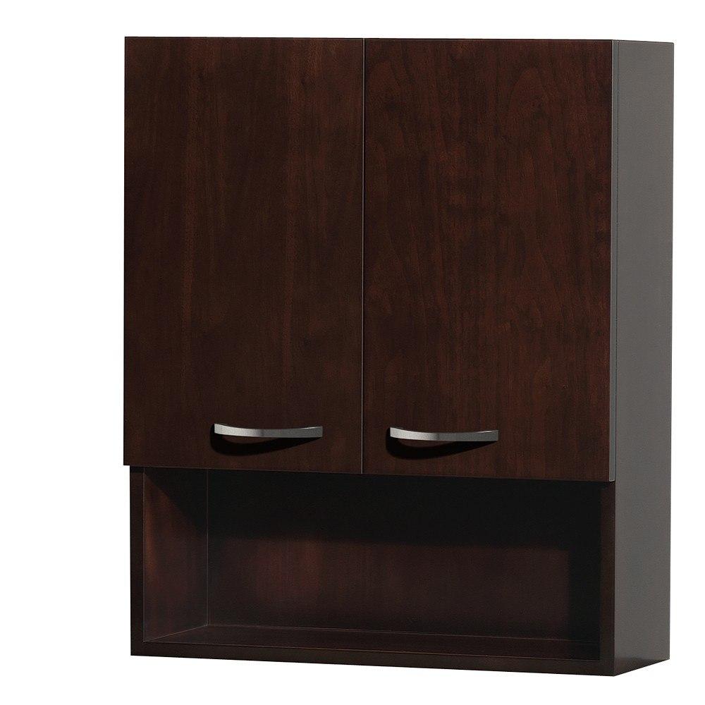 Wyndham collection wcsb807es 24 inch maria bathroom wall cabinet bath bathroom single vanity for Wyndham bathroom wall cabinet