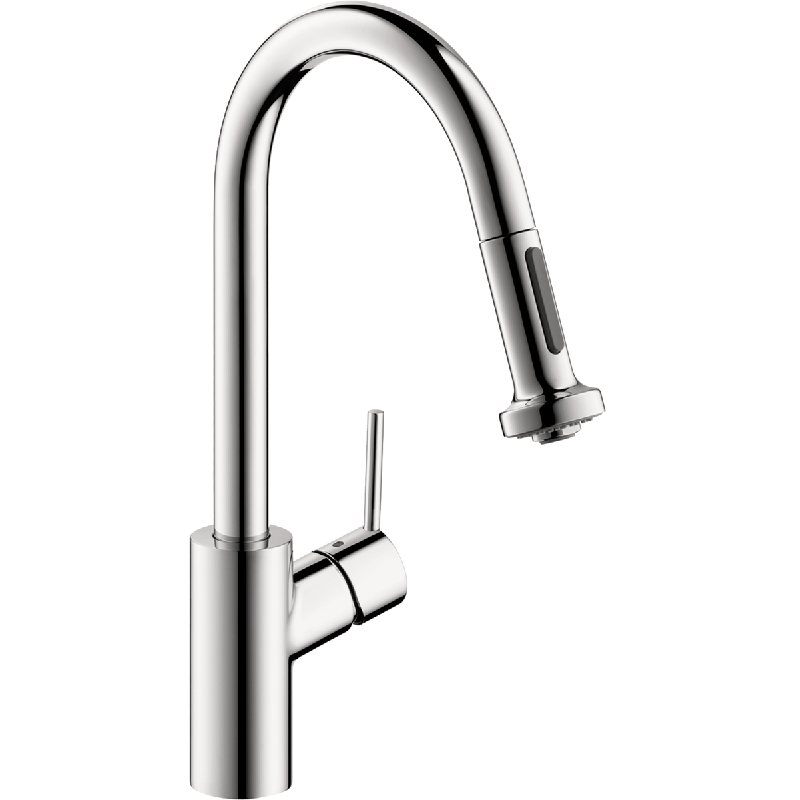 HANSGROHE 04310 TALIS S 2-SPRAY HIGHARC KITCHEN FAUCET, PULL-DOWN, 1.5 GPM