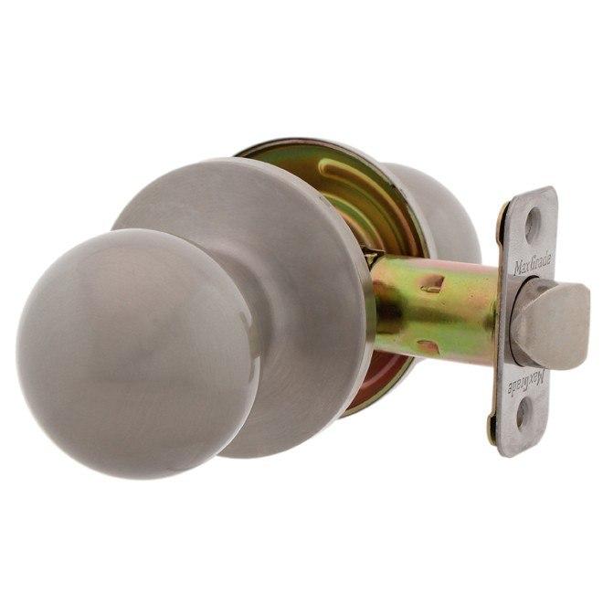 MaxGrade 100OXF Oxford Ball Style Passage Hal/Closet Door Knob