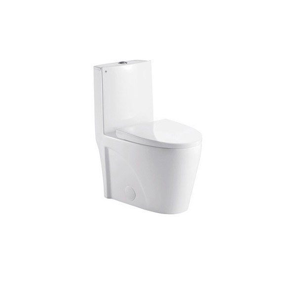 Superb Moreno Bath K0382 One Piece 1 24 0 8 Gpf Dual Flush Toilet With Soft Closing Seat Upc Approval In White Lamtechconsult Wood Chair Design Ideas Lamtechconsultcom