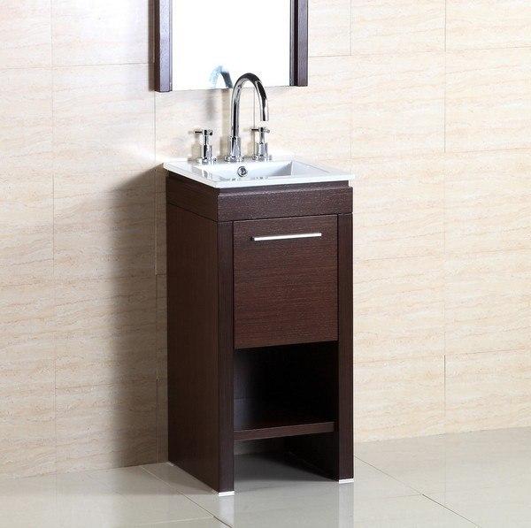 Bellaterra 500137 16 Inch Single Sink Vanity