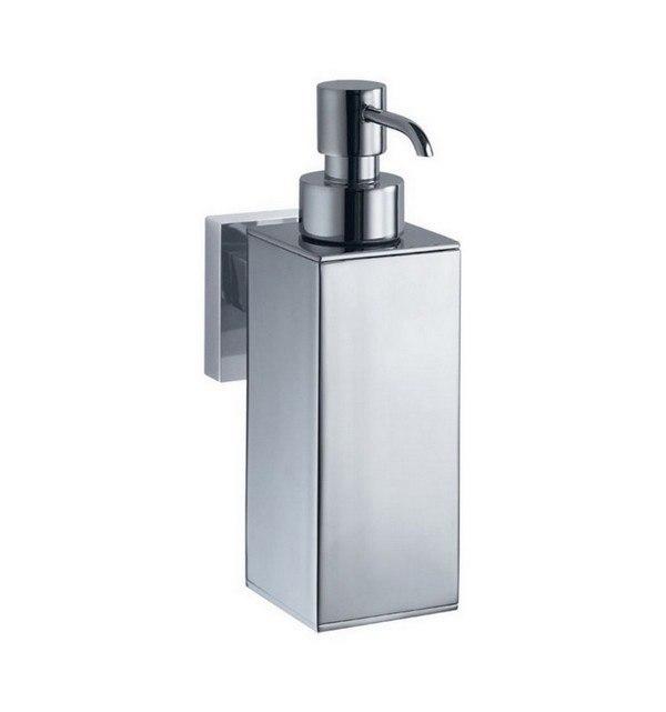 KUBEBATH 9932 AQUA NUON WALL MOUNT STAINLESS STEEL SOAP DISPENSER