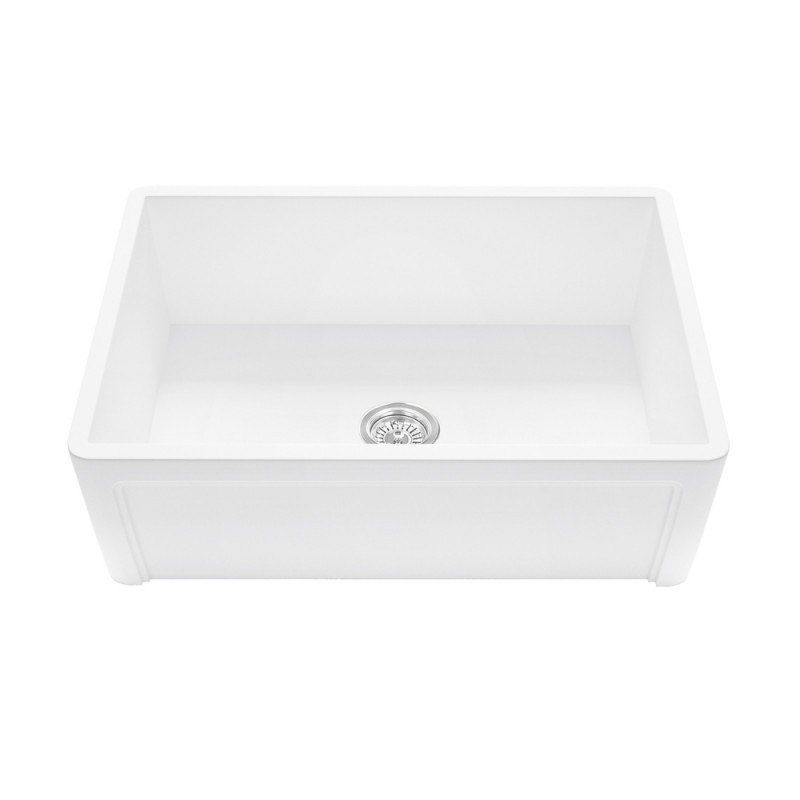Vigo VGRA3618SL 36 Inch Casement Front Matte Stone Farmhouse Kitchen Sink