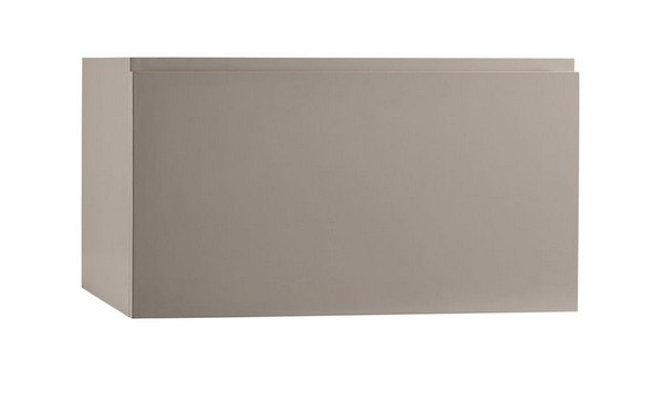 RONBOW 017831-E01 ARIELLA 31 INCH WALL MOUNT BATHROOM VANITY BASE CABINET IN BLUSH TAUPE