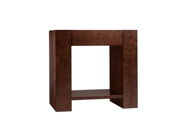 Ronbow 031431-H01 Zenia 31 Inch Bathroom Vanity Base Cabinet in Dark Cherry