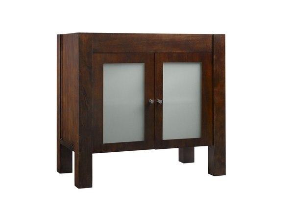 Ronbow 032531-1-F07 Devon 31 Inch Bathroom Vanity Base Cabinet in Vintage Walnut