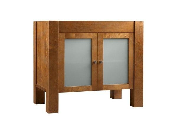 Ronbow 032536-1-F08 Devon 36 Inch Bathroom Vanity Base Cabinet in Cinnamon
