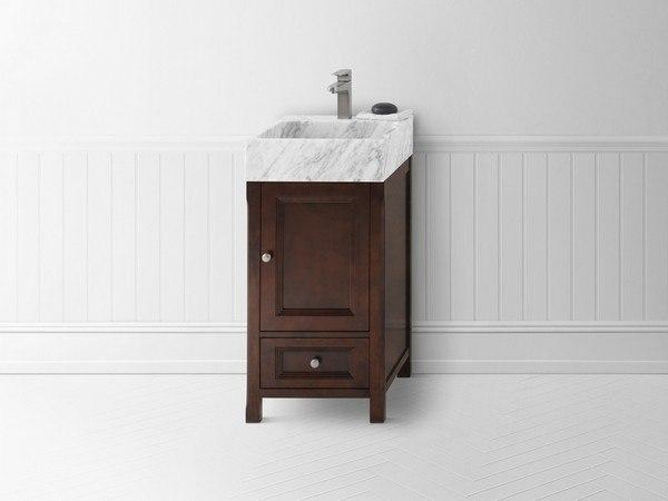 Ronbow 051618 F07 Juliet Deep Bathroom Vanity Cabinet Base Vintage