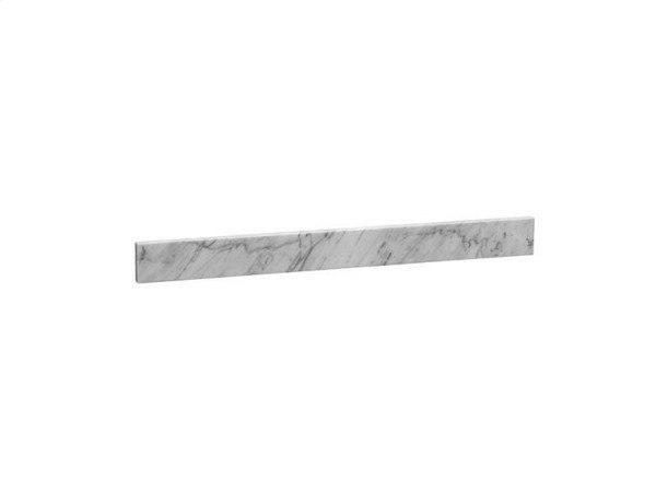 Ronbow 310137-CW 37 x 3 Inch Marble Backsplash in Carrara White