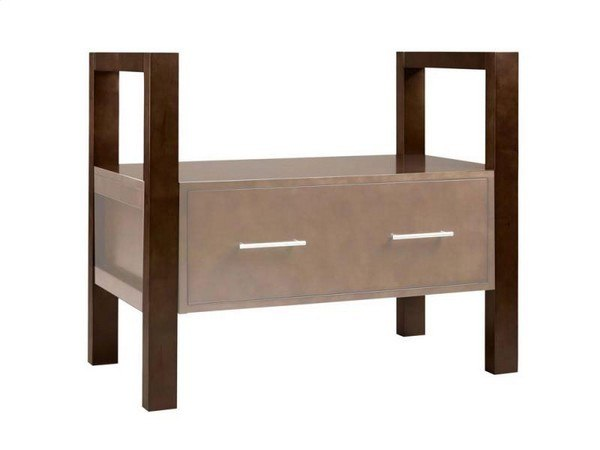 Ronbow 500030 H01 Rowena 29 3 4 Inch Tall Wood Console Vanity Stand For Rowena Drawers Legs Only