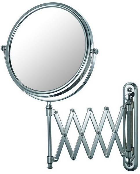 APTATIONS 23345 EXTENSION ARM WALL MIRROR IN CHROME