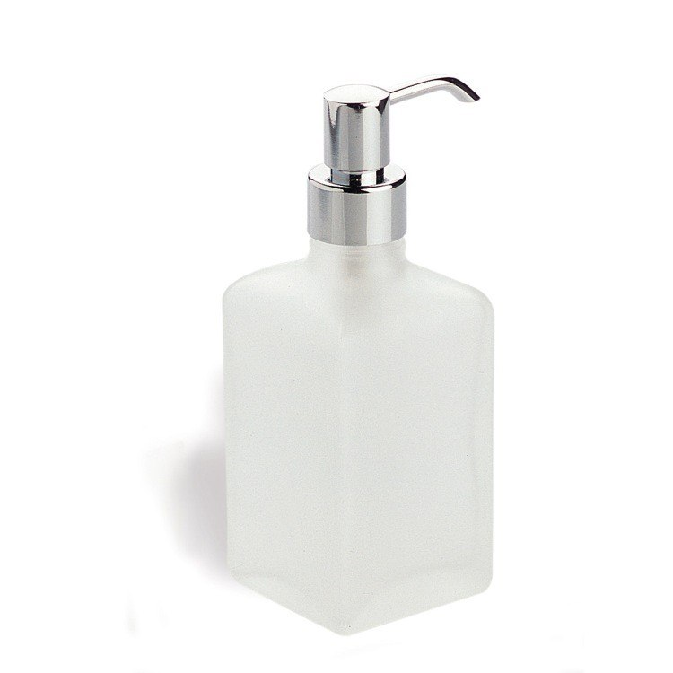 StilHaus 625 Glass Counter Frosted Glass Soap Dispenser
