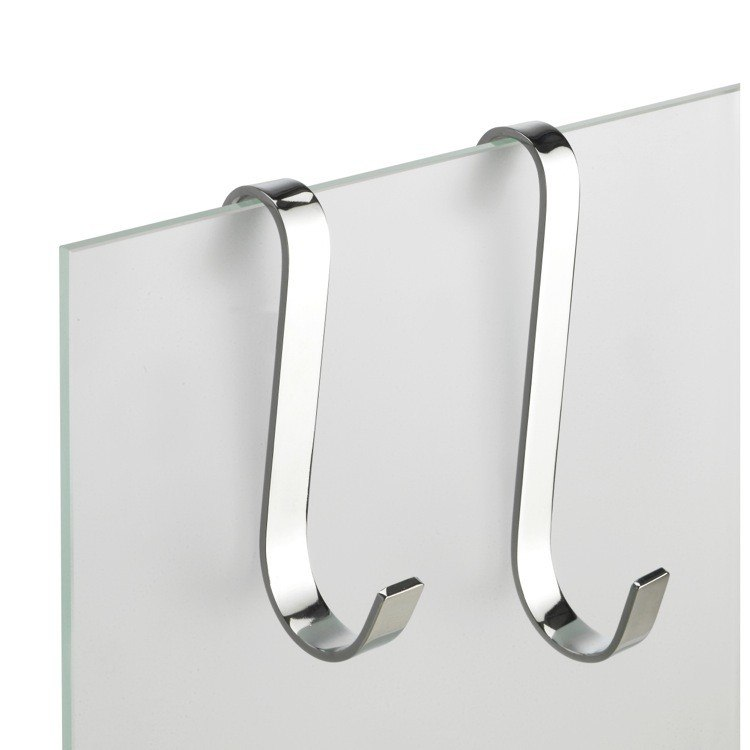 StilHaus 964 Gea Small Chrome Brass Bathroom Hook