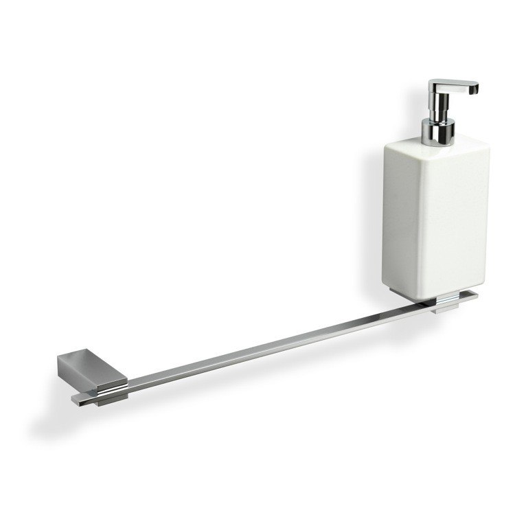 STILHAUS GE69D GEA 18 INCH SOAP DISPENSER AND TOWEL BAR COMBO
