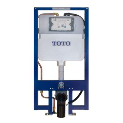 TOTO WT174M NEOREST IN-WALL TANK UNIT 1.28 GPF AND .09 GPF - COPPER SUPPLY
