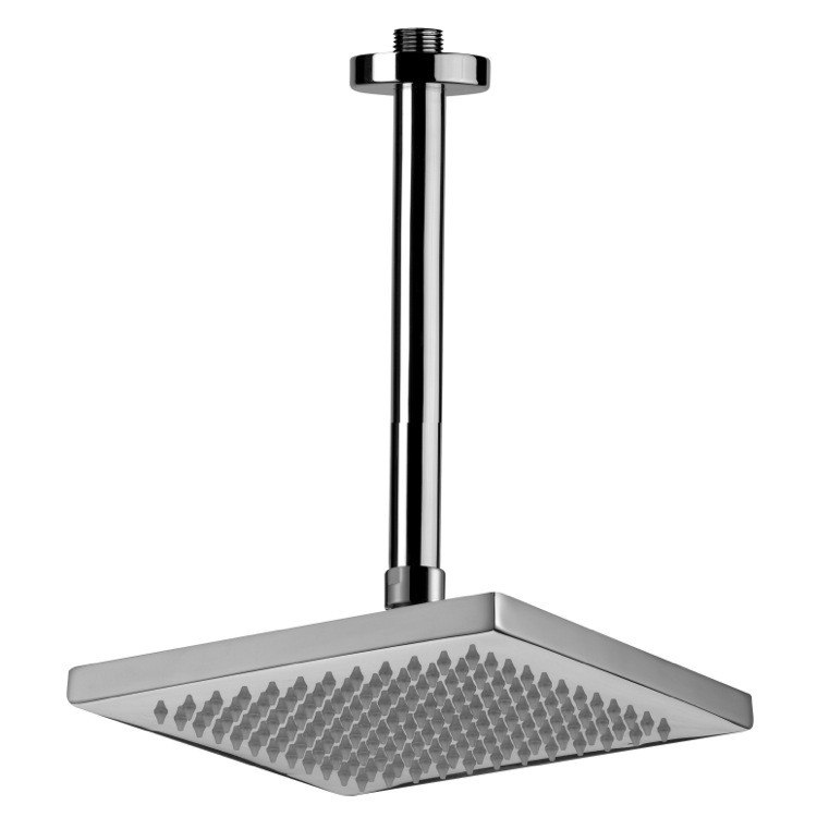 REMER 347N-359SS ENZO POLISHED CHROME CEILING MOUNTED SHOWER HEAD