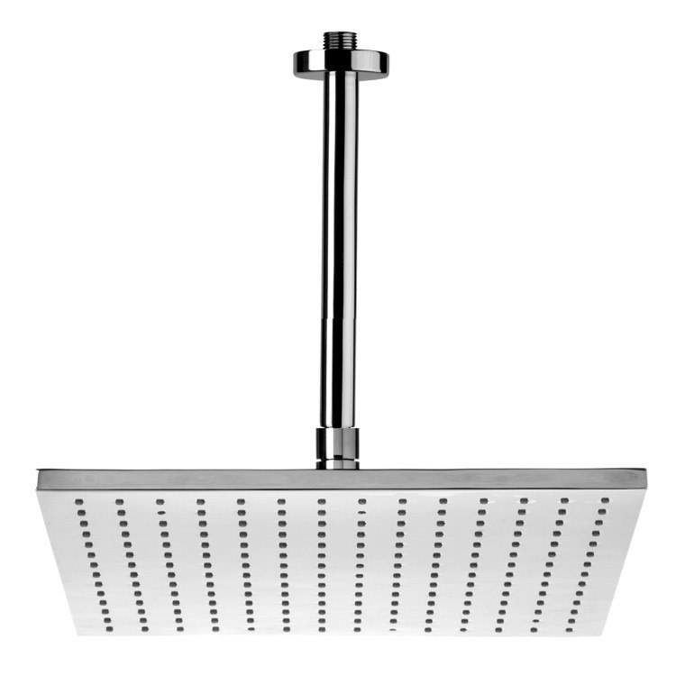 REMER 347N-359SSL ENZO POLISHED CHROME CEILING MOUNTED SHOWER HEAD