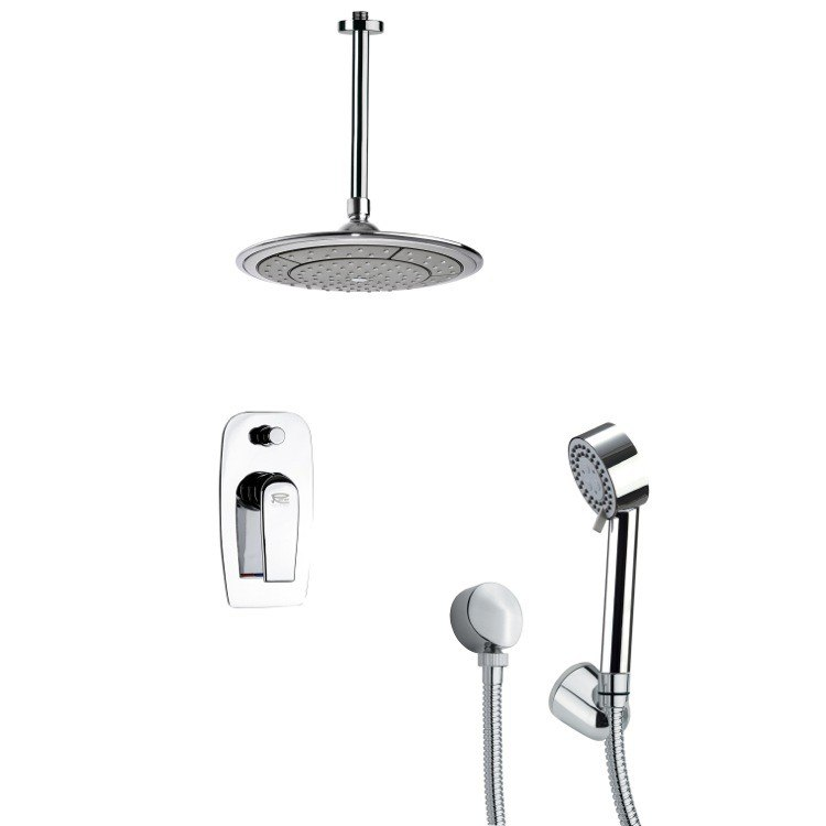 REMER SFH6002 ORSINO CHROME SHOWER FAUCET WITH HAND SHOWER