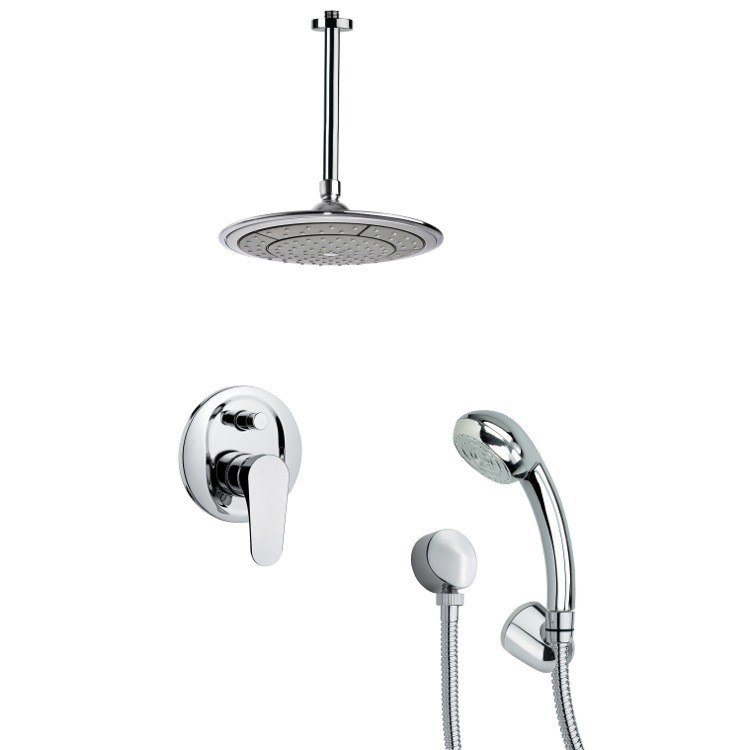 REMER SFH6003 ORSINO SHOWER FAUCET SET WITH HANDHELD SHOWER IN CHROME