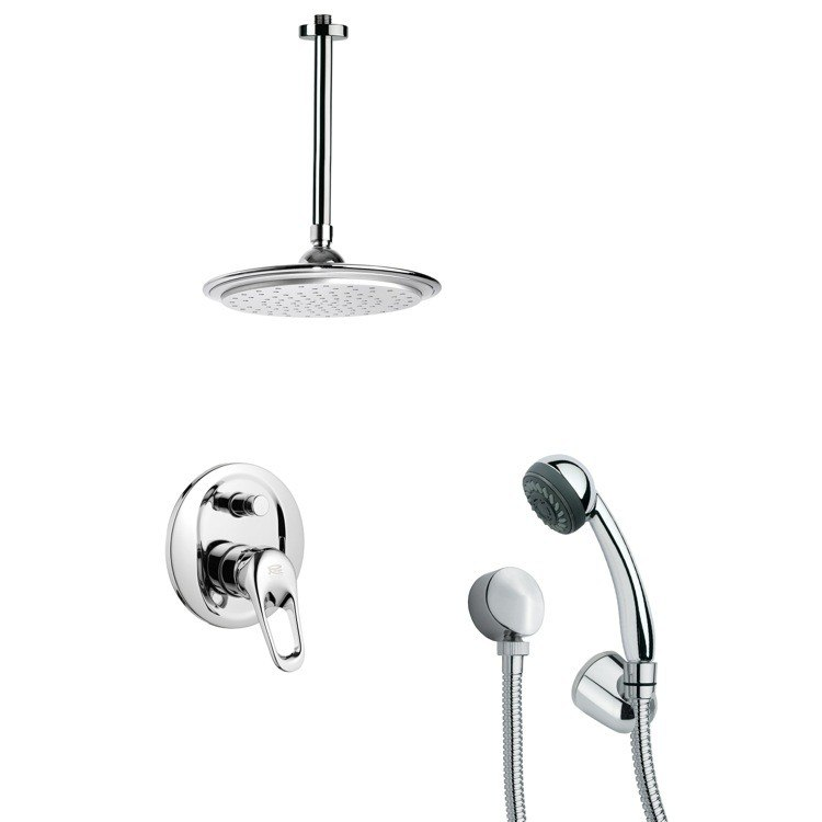 REMER SFH6010 ORSINO SLEEK CHROME SHOWER FAUCET WITH HAND SHOWER