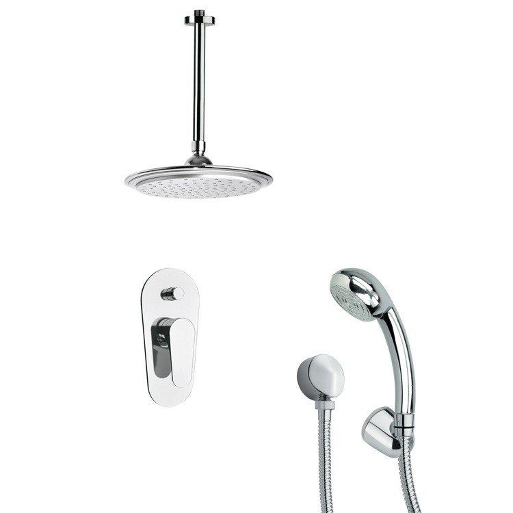 REMER SFH6011 ORSINO ROUND CHROME SHOWER SYSTEM