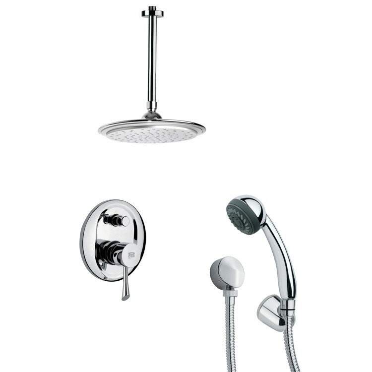 REMER SFH6013 ORSINO SHOWER FAUCET SET WITH HAND SHOWER IN CHROME