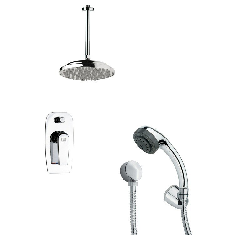 REMER SFH6024 ORSINO CHROME SHOWER FAUCET WITH HAND SHOWER