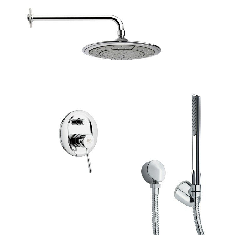 REMER SFH6041 ORSINO ROUND POLISHED CHROME SHOWER SYSTEM