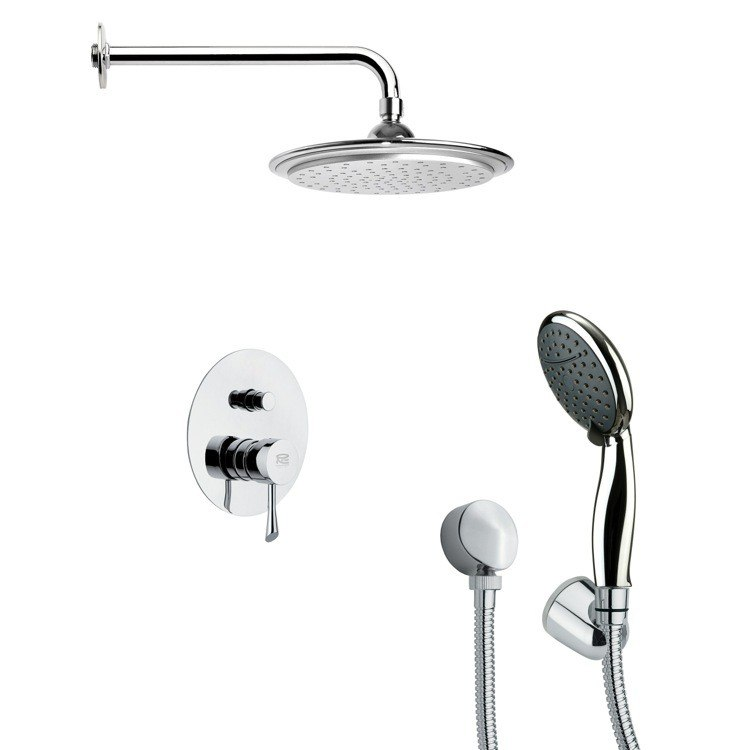 REMER SFH6045 ORSINO SHOWER FAUCET SET WITH HAND SHOWER IN CHROME