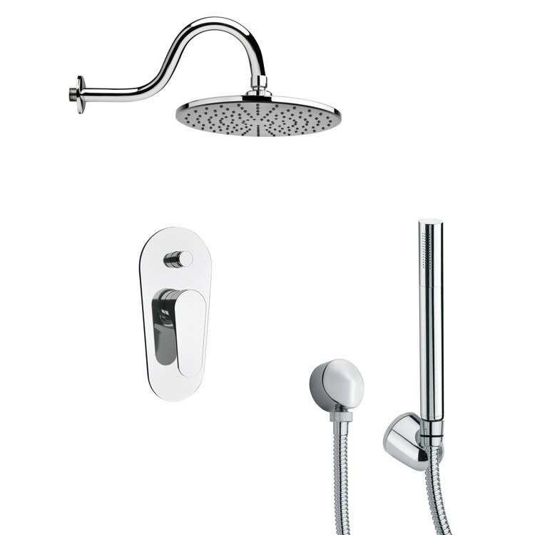 REMER SFH6068 ORSINO CHROME ROUND SHOWER SYSTEM