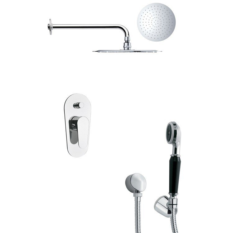 REMER SFH6132 ORSINO SLEEK CHROME SHOWER FAUCET SET WITH HAND SHOWER