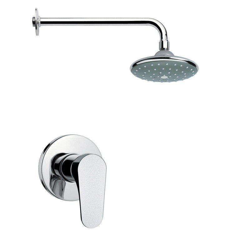 REMER SS1043 MARIO POLISHED CHROME SHOWER FAUCET SET