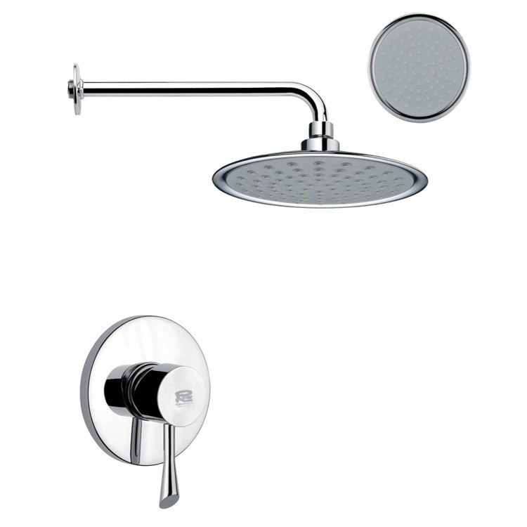 REMER SS1152 MARIO ONE-WAY SHOWER FAUCET SET IN POLISHED CHROME