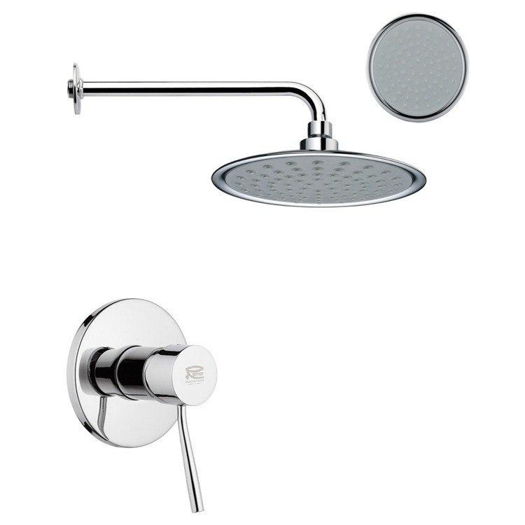 REMER SS1155 MARIO ONE-WAY SHOWER FAUCET SET IN POLISHED CHROME