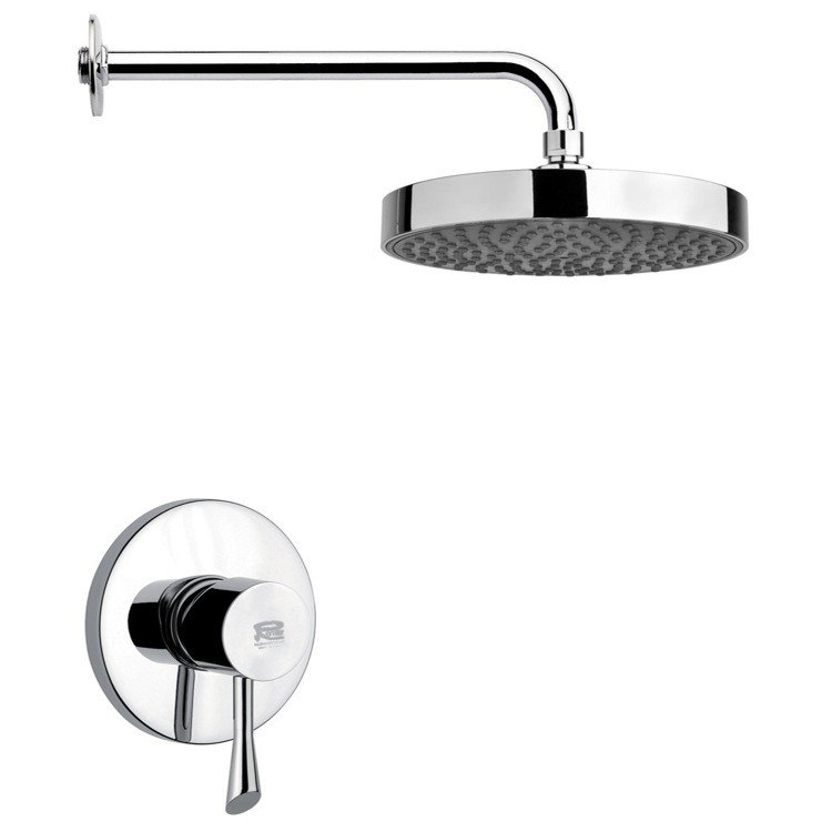 REMER SS1196 MARIO ROUND SHOWER FAUCET SET IN CHROME
