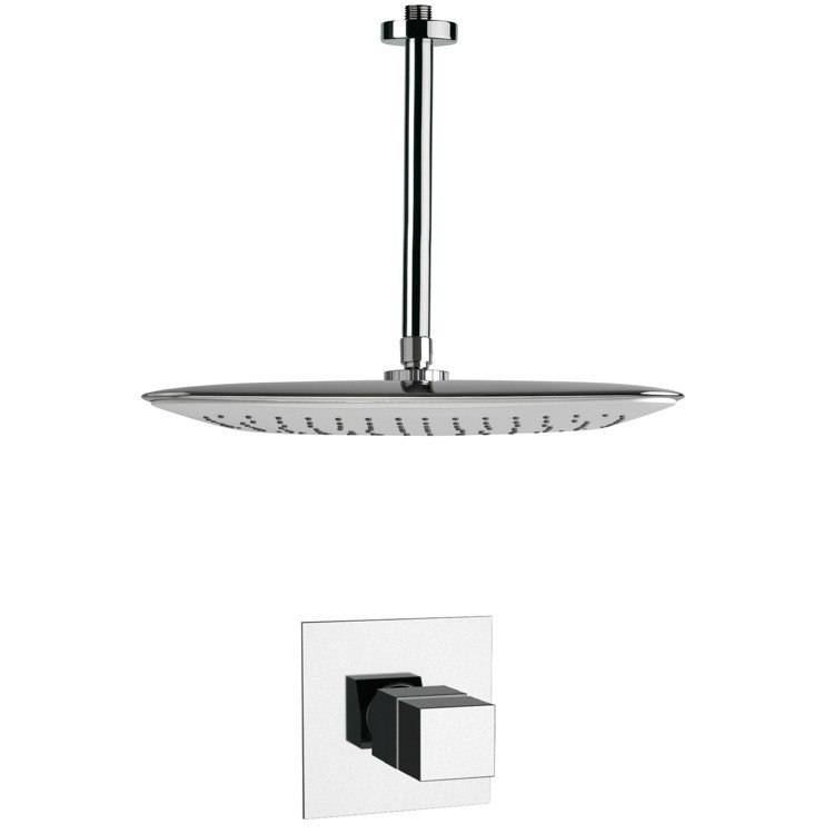 REMER SS1400 MARIO POLISHED CHROME THERMOSTATIC SHOWER FAUCET SET