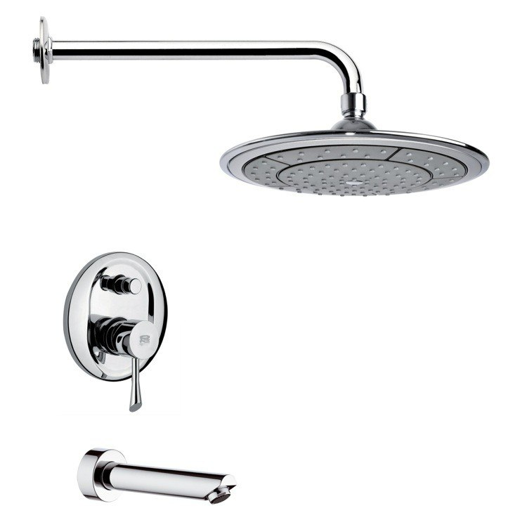 REMER TSF2026 PELEO CONTEMPORARY ROUND CHROME RAIN SHOWER SYSTEM