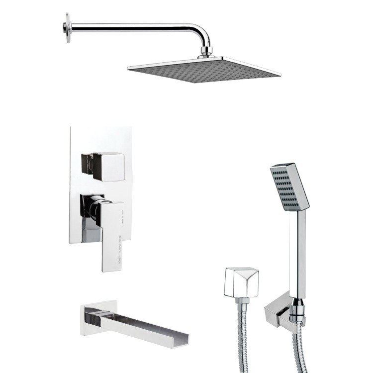 REMER TSH4109 TYGA SQUARE CONTEMPORARY SHOWER SYSTEM