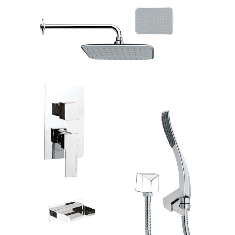 REMER TSH4136 TYGA MODERN CHROME SHOWER SYSTEM