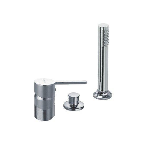 Ramon Soler Us 3333sb Drako Three Hole Deck Mounted Tub Faucet With