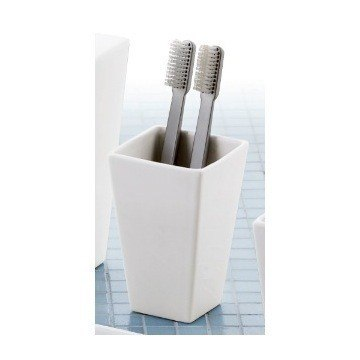 GEDY 1698 JAMILA SQUARE TOOTHBRUSH HOLDER